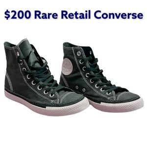 Mens 7.5 Converse Shoes Black
